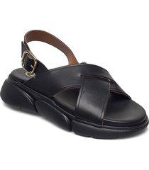 barisci black vacchetta shoes summer shoes flat sandals svart atp atelier