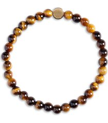 caputo & co. stone bead bracelet in yellow tiger eye at nordstrom