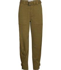 jackson cargo pant pantalon met rechte pijpen groen tomorrow