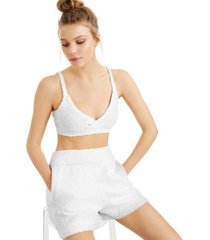 culpos x inc fuzzy cropped knit tank top, created for macy's