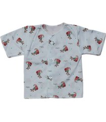 camiseta manga corta estampado canguro coral santana