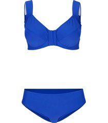 bikini minimizer con ferretto (set 2 pezzi) (blu) - bpc bonprix collection