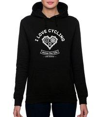 bluza damska. i love cycling