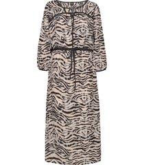 dana dress knälång klänning multi/mönstrad nü denmark