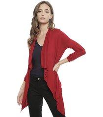 kimono hering rojo - calce holgado