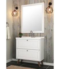 conjunto para banheiro provenca branco bosi - branco - dafiti