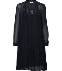 day smart jurk knielengte zwart day birger et mikkelsen