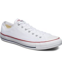 all star ox låga sneakers vit converse