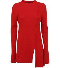 asymmetrical tunic jumper