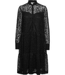 dress ls dresses lace dresses svart rosemunde