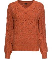 maglione traforato (marrone) - bodyflirt