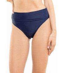 bikini calzón pin up doble uso azul marino samia