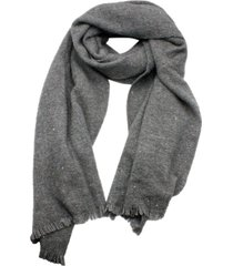 brunello cucinelli wide cashmere silk scarf with fringes and micro sequins