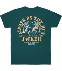 t-shirt korte mouw jacker great escape