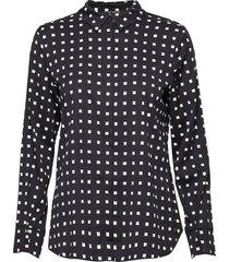 bonne filippa shirt blouse lange mouwen zwart bruuns bazaar