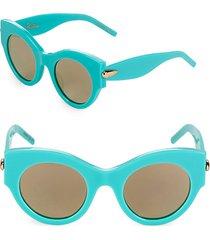 48mm cat-eye sunglasses