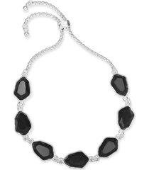 style & co stone slider bracelet, created for macy's
