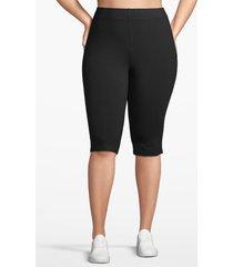 lane bryant women's active essential knee legging 14/16 black