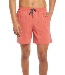 men's tommy bahama naples islandactive swim trunks, size xx-large - orange