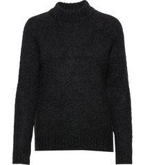 monty sweater st gebreide trui zwart iben