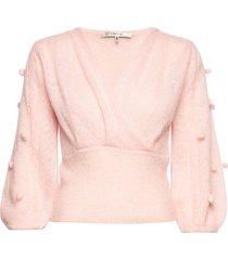 jaylagz pullover so20 gebreide trui roze gestuz