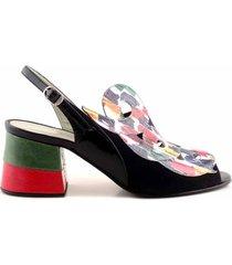 sandalia multicolor briganti  santol