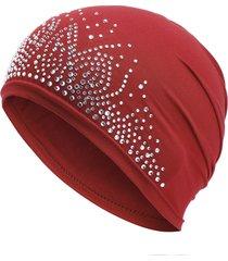 sotto berretto a cappuccio bone bonnet ninja inner hijab women musulmano islamico wrap foulard collo completo sca