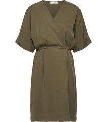 eden dress kort klänning grön storm & marie