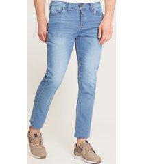 jeans skinny desgastados azul 30