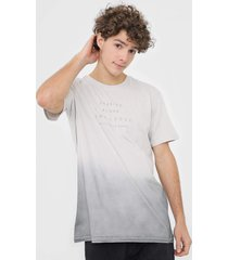 camiseta hang loose embro off-white - off white - masculino - dafiti