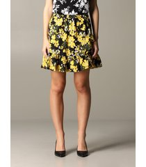 michael michael kors skirt michael michael kors skirt with floral pattern
