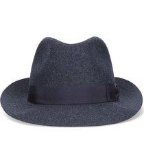 borsalino fabric fedora hat