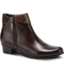 women's spring step stockholm bootie, size 10.5-11us - brown