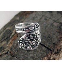 spoon ring - pierścionek z łyżeczki 11