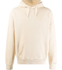 paura long sleeved cotton hoodie - neutrals