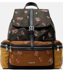 medium paisley backpack - green - u