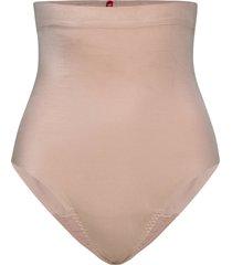 hi-waist thong lingerie shapewear bottoms beige spanx