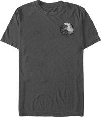 fifth sun star wars men's death star patch pocket short sleeve t-shirt