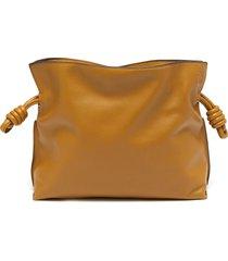 'flamenco' leather mini clutch