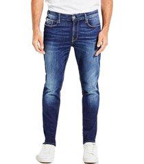 jeans slim tapered freeform denim guess