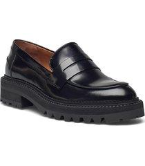 shoes a1360 loafers låga skor svart billi bi