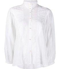 voile bohemian blouse