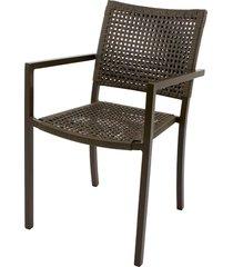 cadeira com braco west fibra sintetica