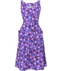 ramatuelle dress, purple