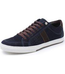 sapatenis sandalo vintage - azul marinho - masculino - dafiti