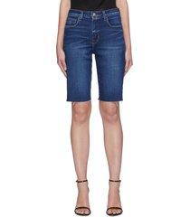 'taylor' denim bermuda shorts