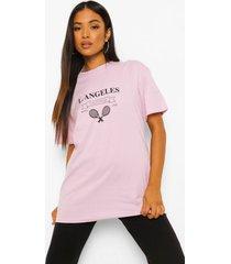 petite la tennis club t-shirt, lilac