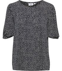 bruni blouse raindrops print