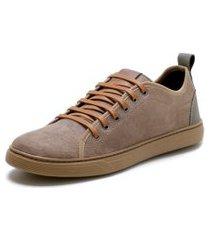 sapatênis casual masculino mr shoes areia