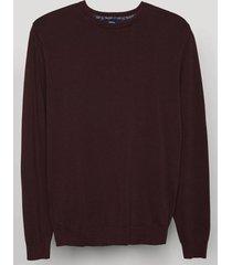 sweater vintage burdeo trial
